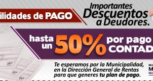Facilidad de Pago Tasa Municipal, Directora de Rentas Marile Veron (Audio de Entrevista)
