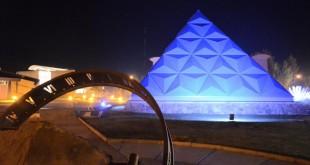 Invierno en el Planetario Malargüe