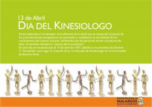 13 de abril  día del kinesiologo