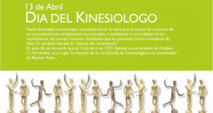 """13 de Abril """"Día del Kinesiologo"""""""