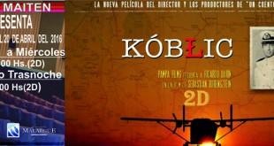 Kóblic, con Ricardo Darín, llega a Cine Maitén
