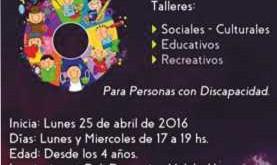 """Talleres Municipales para Personas con Discapacidad  """"SUPERARTE"""""""