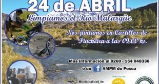 El 24 de abril, limpiamos el Río Malargüe