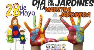 28 de Mayo, Día de Los Jardines y La Maestra jardinera