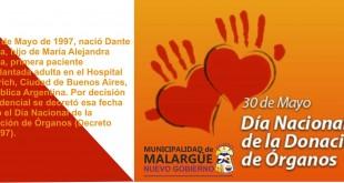 30 de Mayo, Día Nacional de la Donación de Órganos