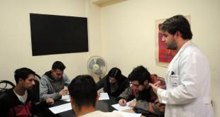 """Estudiantes de Medicina que viven en la Residencia Universitaria presentaron el Proyecto """"Promoción de la Salud"""""""