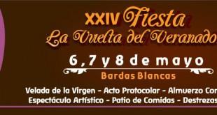 XXIV Fiesta de La Vuelta del Veranador – Cronograma de actividades