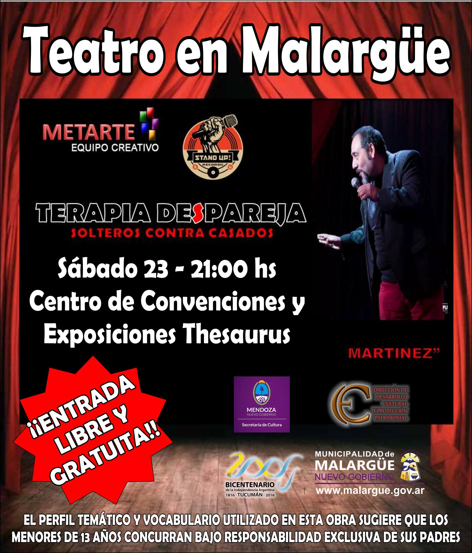 Teatro en Malargüe