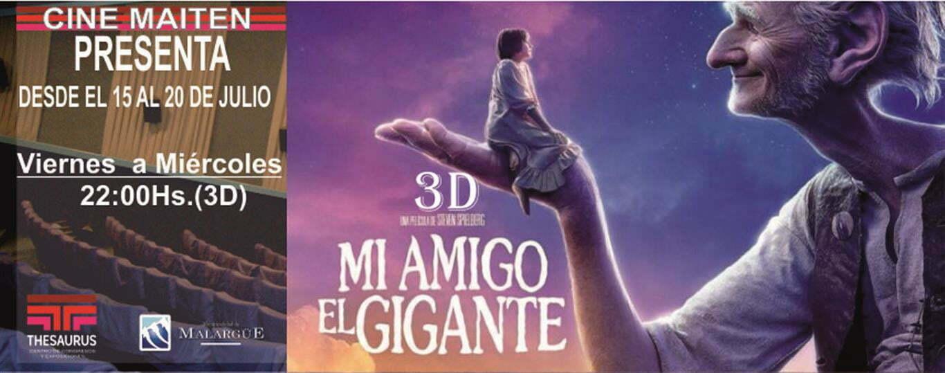EL BUEN AMIGO GIGANTE (Medium)