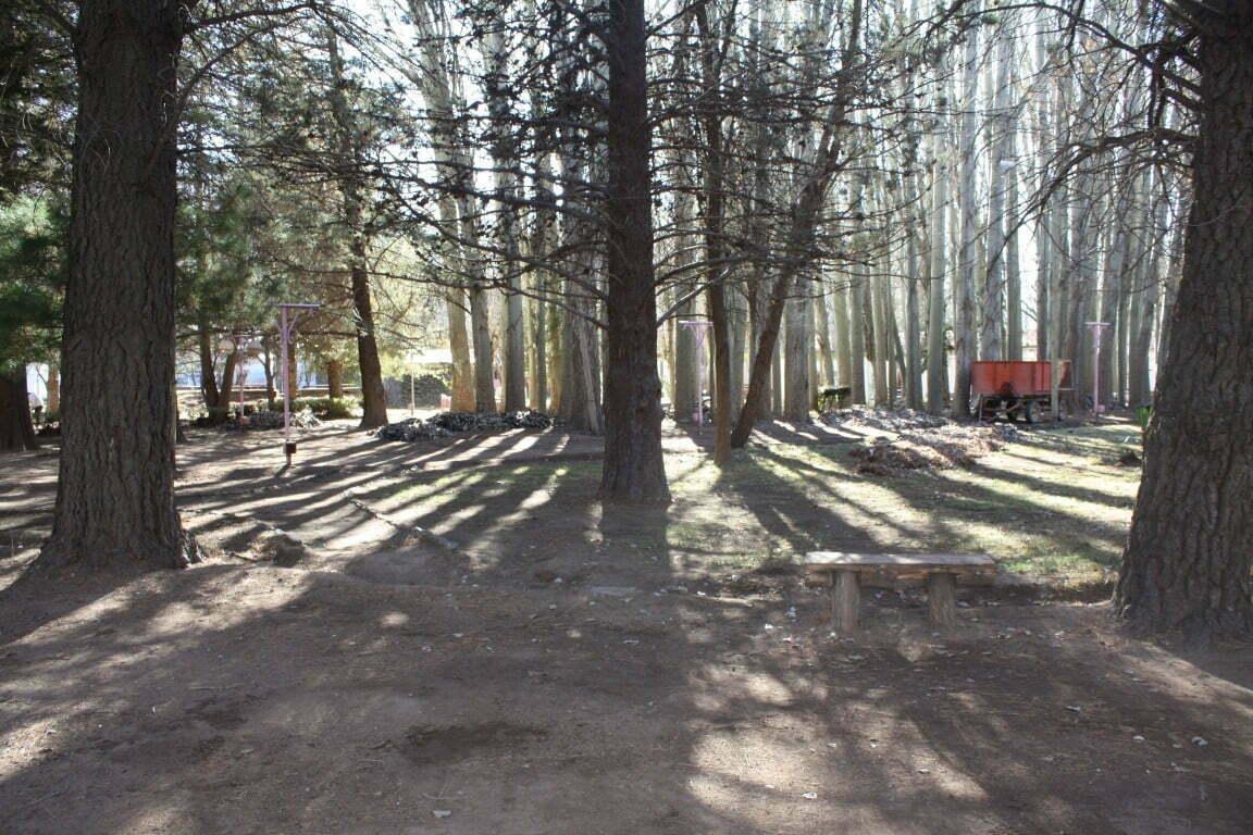 Trabajos en el Parque del Ayer