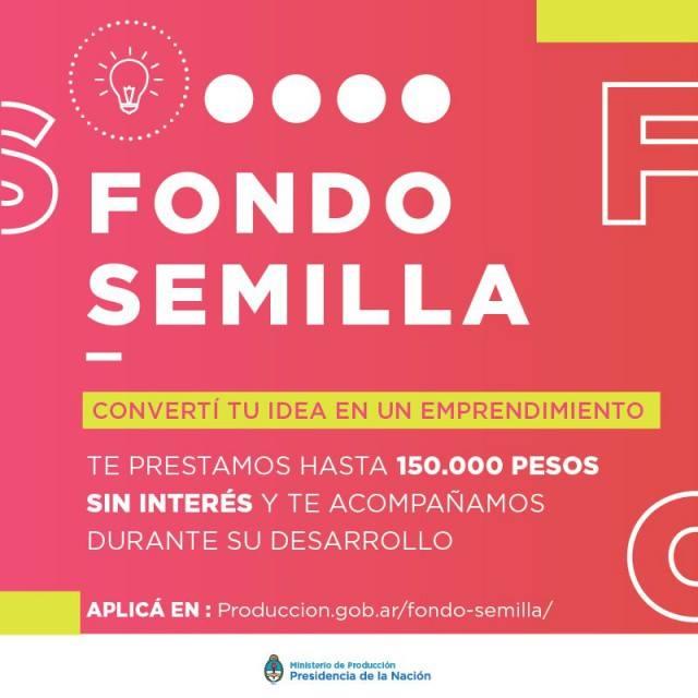 Fondo Semilla otorga préstamos hasta $150 mil