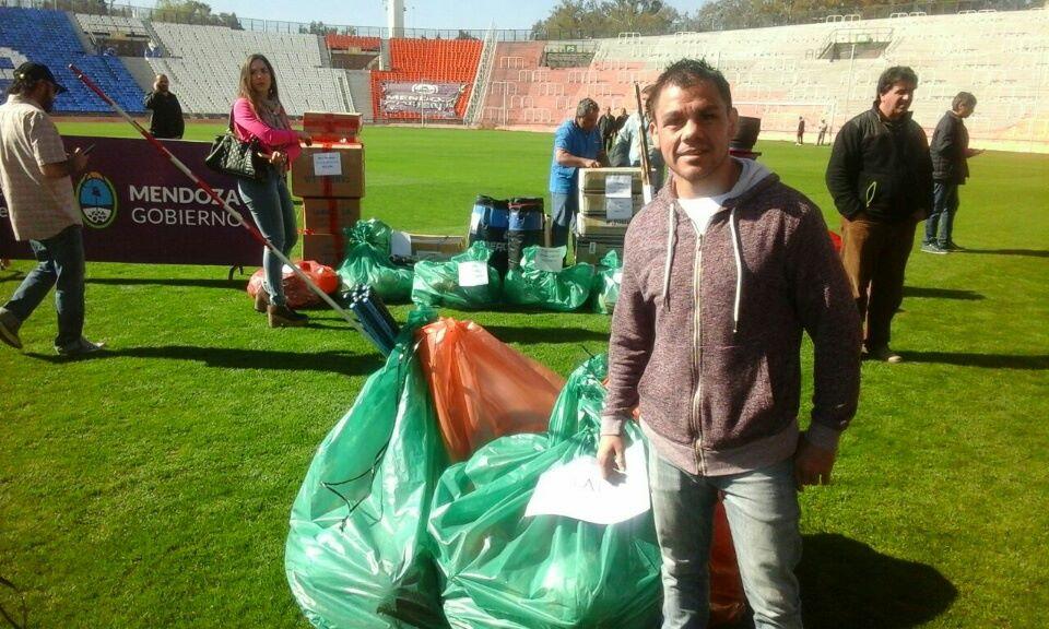 La Directora de Gestión y Acción Deportiva recibió elementos en Mendoza