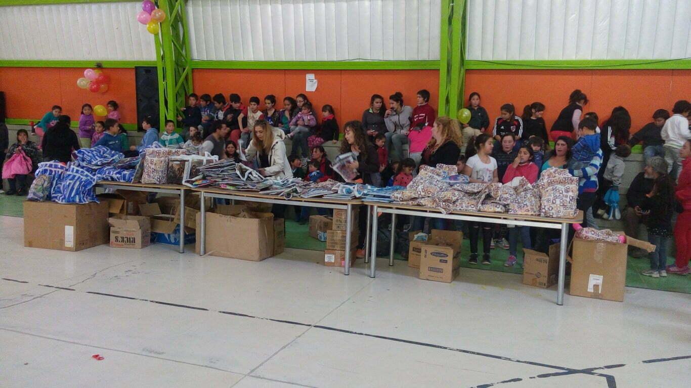Casa de Malargüe entregó donaciones de juguetes en la zona rural