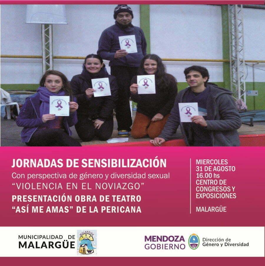 Flyer Presentación Malargüe