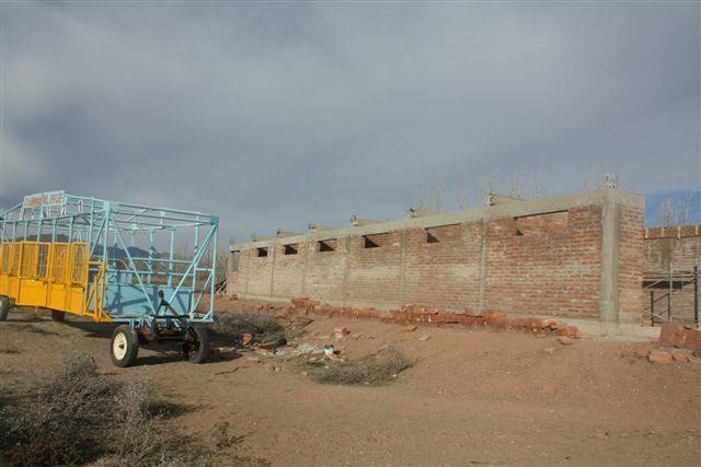 Obras de la Dirección de Obras Púlicas en Matadero Municipal y Caballerizas