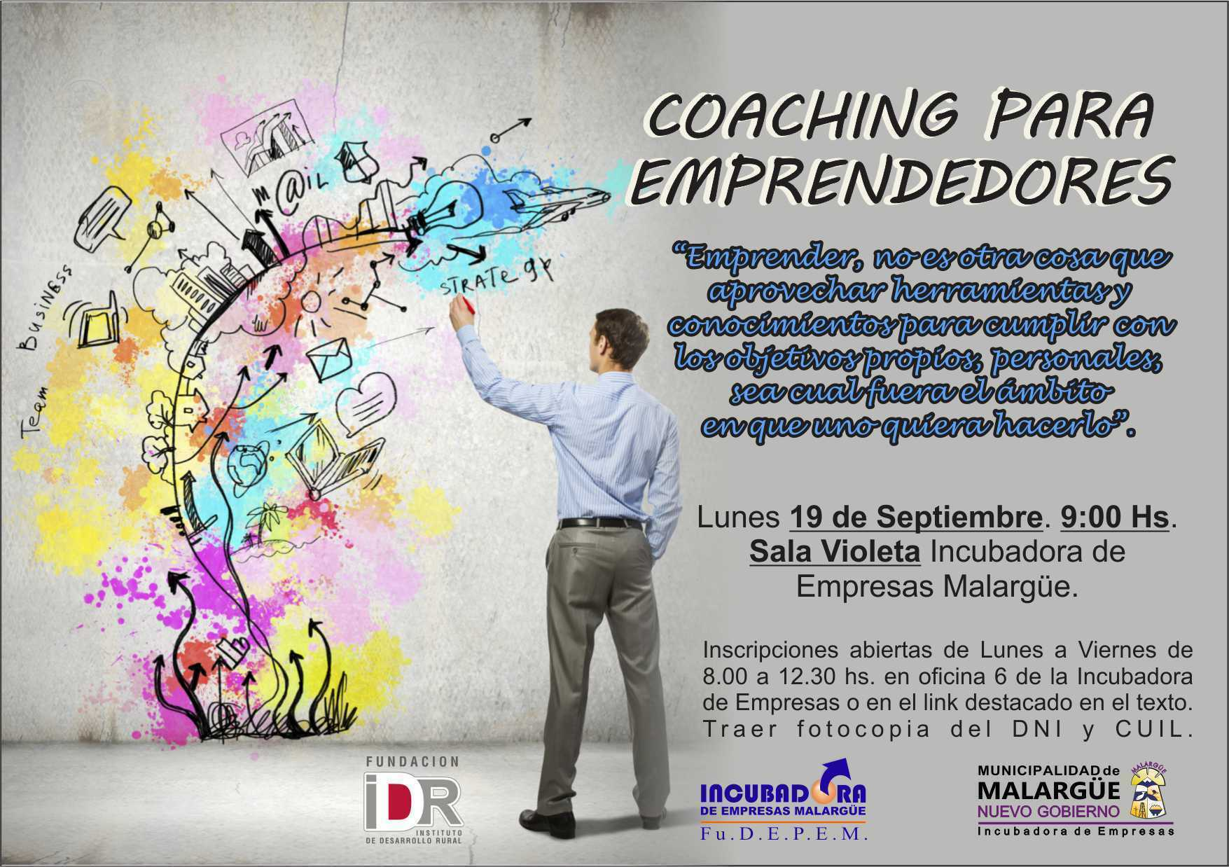 Inscripciones para el curso Coaching para Emprendedores