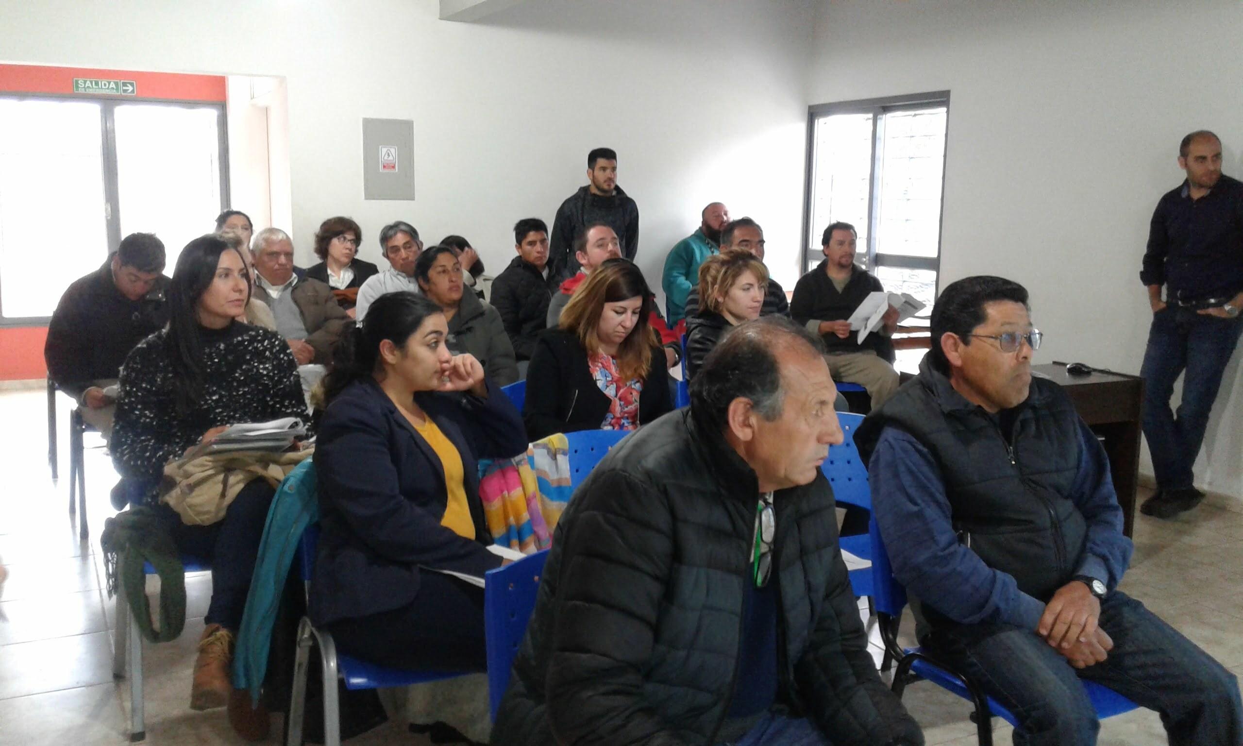 Se realizó una reunión informativa sobre Líneas de Acción para Trabajar y para Emprender.