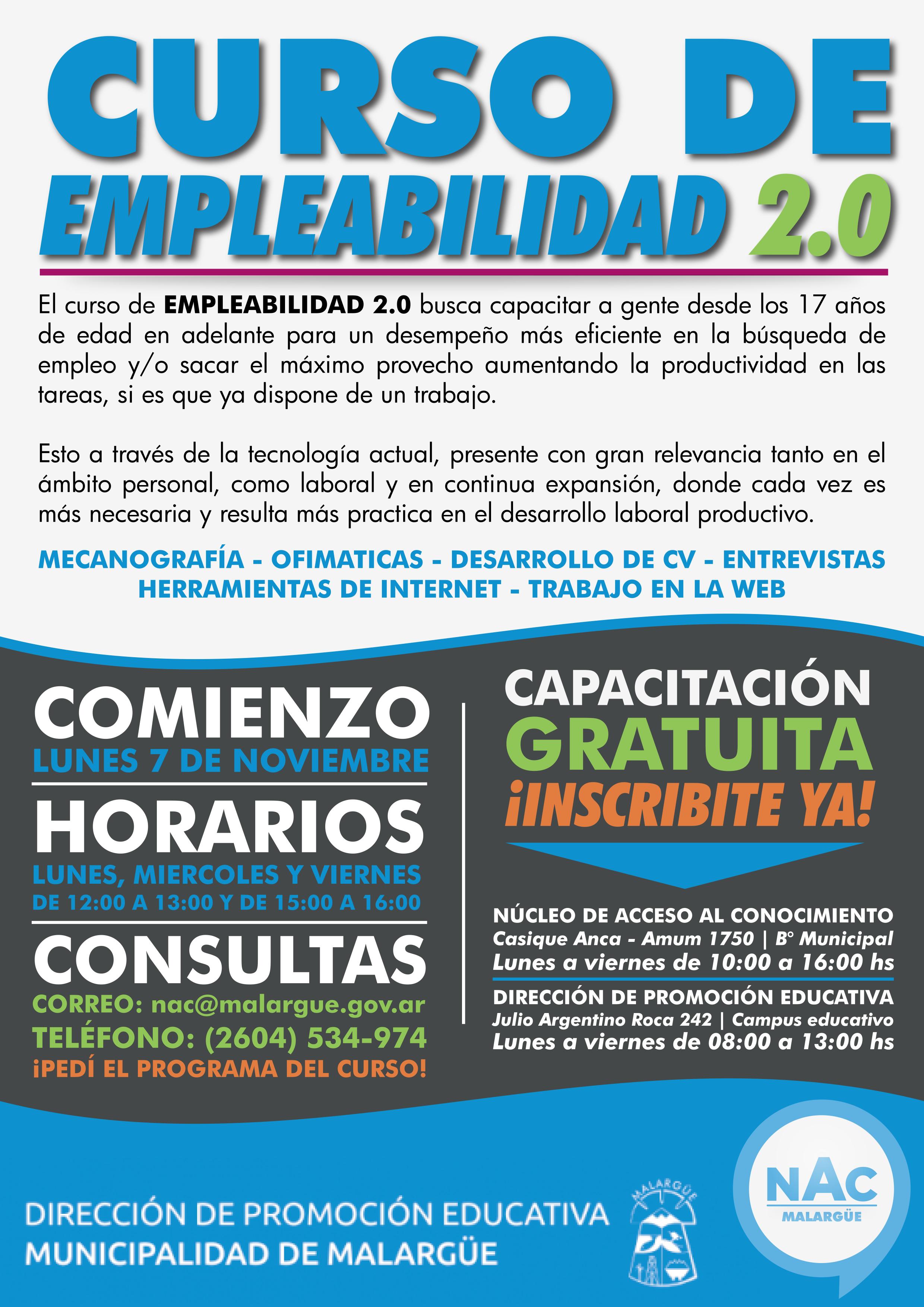 Curso de EMPLEABILIDAD 2.0