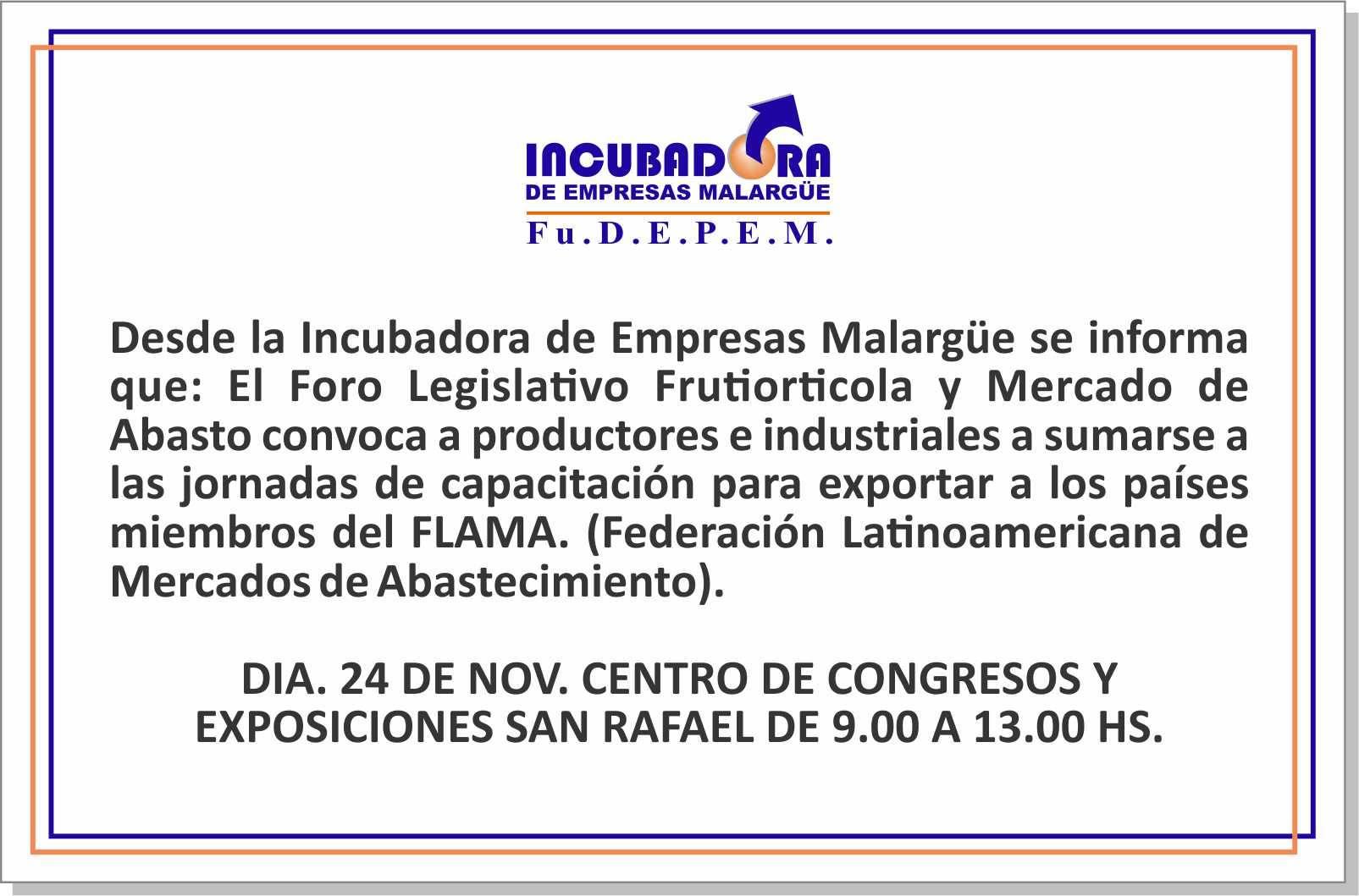 Foro Legislativo Frutihortícola y Mercado de Abasto