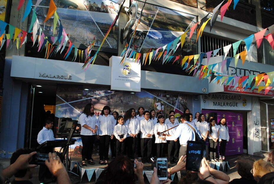 La Casa de Malargüe se vistió de fiesta para los festejos del mes del departamento