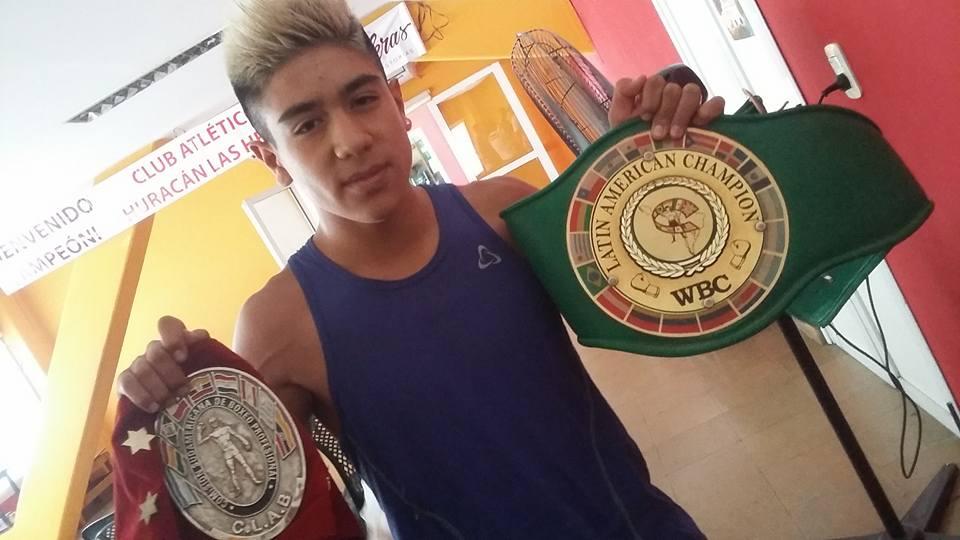 Primera victoria para un boxeador malargüino