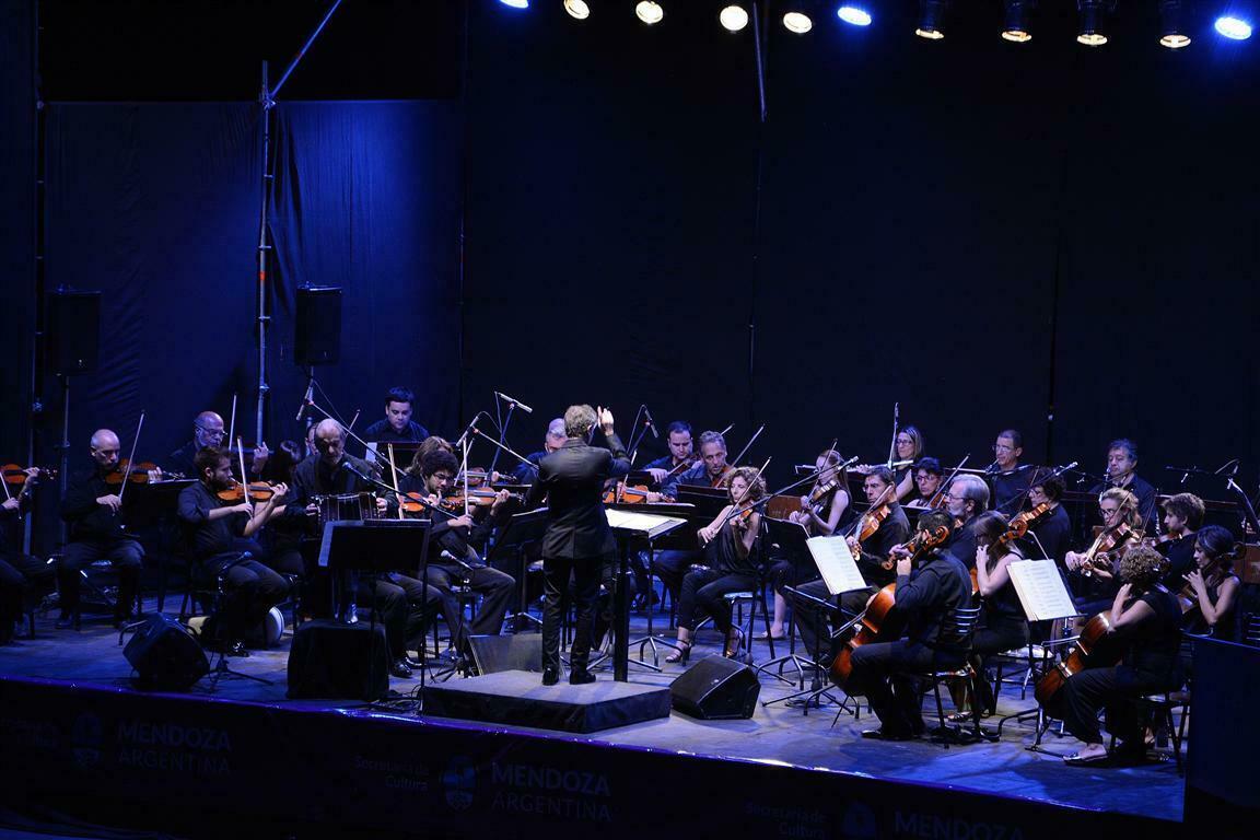 La Orquesta Filarmónica de la Provincia estuvo en Malargüe