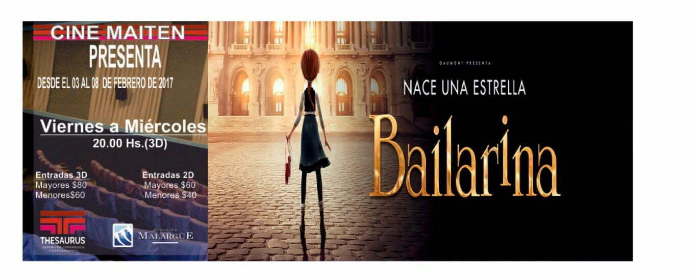 Dos estrenos en Cine Maitén