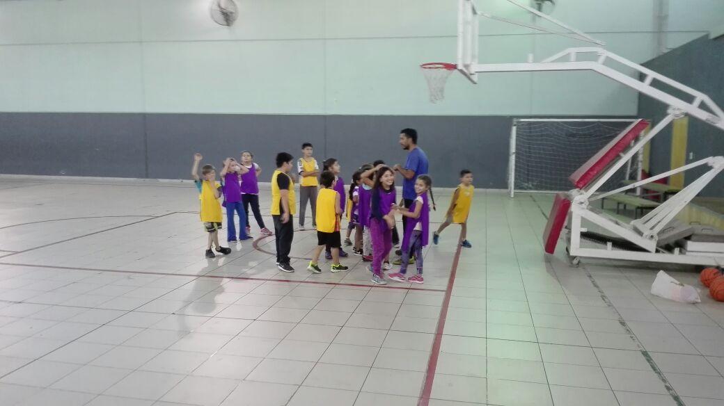 Comenzó la Escuelita de Basquet del Club Social y Deportivo Municipal