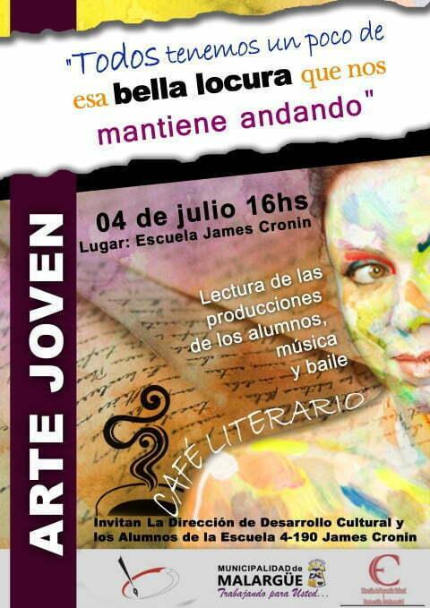 """Café Literario """"Arte Joven"""""""