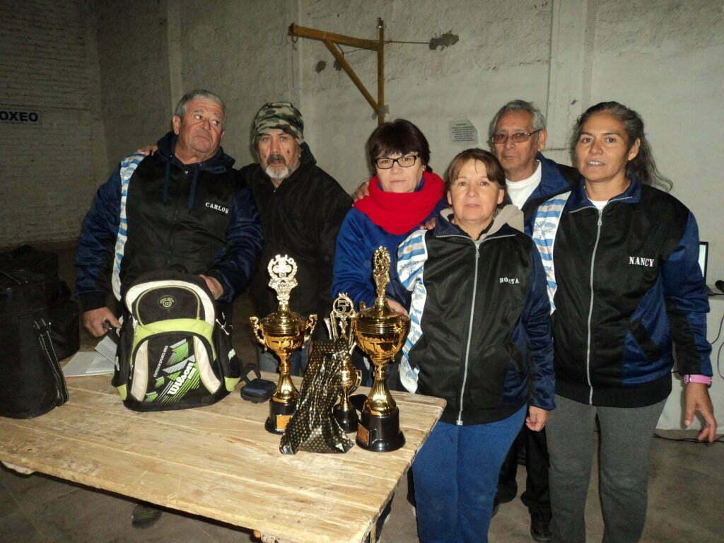 Torneo nacional de Tejo en San Rafael