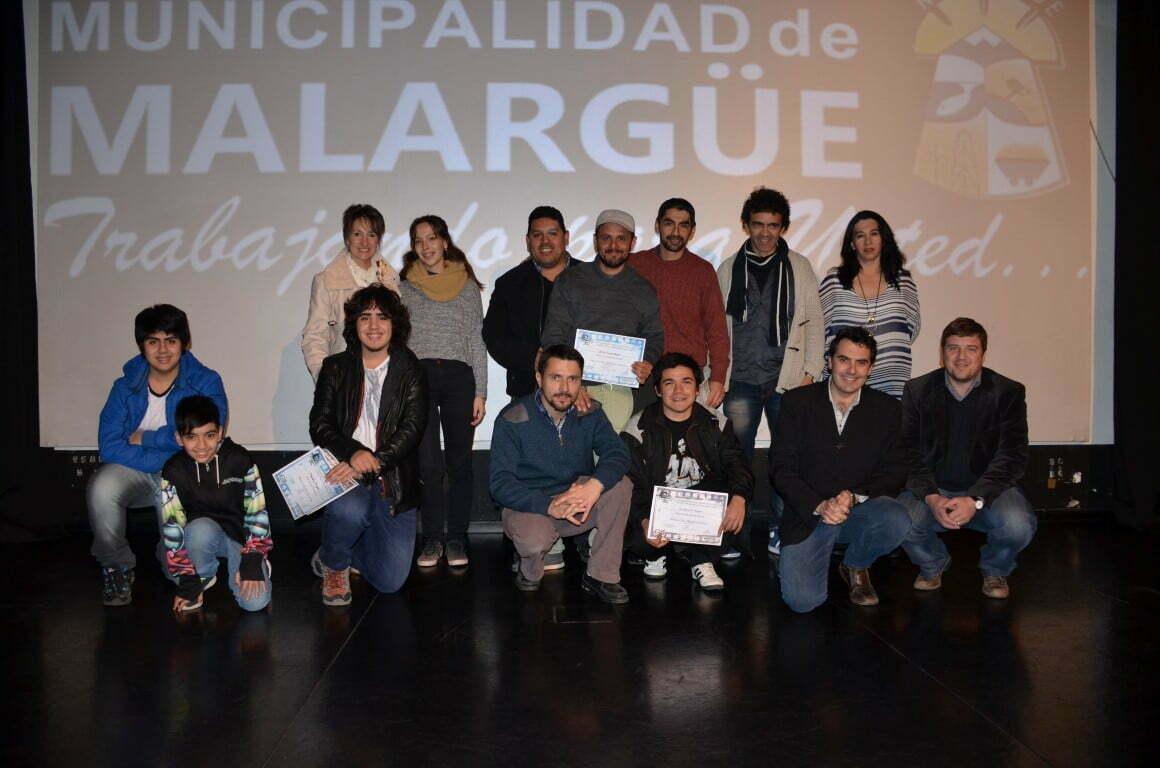 Ganadores del Primer Festival de Cine – Malargüe 2017.