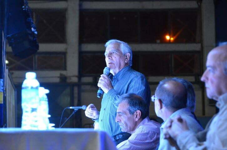 Discurso del Intendente Dn. Jorge Vergara en la Jornada de Fragmentación Hidráulica