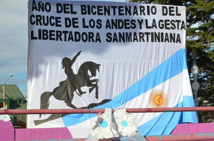 Malargüe conmemoró el 167° Aniversario del fallecimiento del General Don José de San Martín