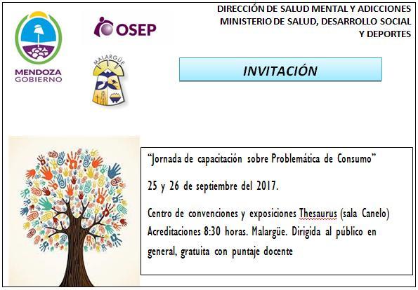 JORNADAS DE CAPACITACION SOBRE PROBLEMATICAS DE CONSUMO