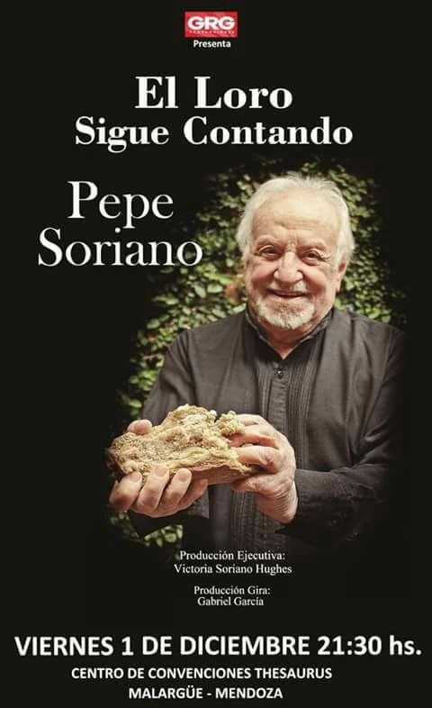 Pepe Soriano llega a Malargüe