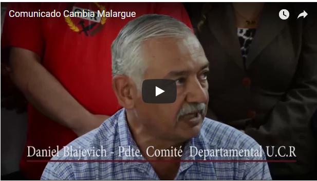 Comunicado Frente Cambia Malargüe en Apoyo a la Política Salarial