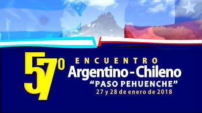 Programa 57º Encuentro Argentino Chileno Paso Pehuenche