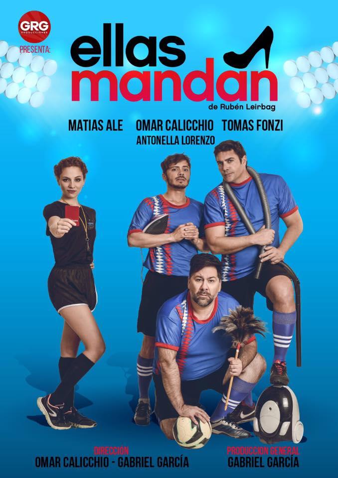 """Malargüe recibe una nueva obra de teatro """"Ellas Mandan"""""""