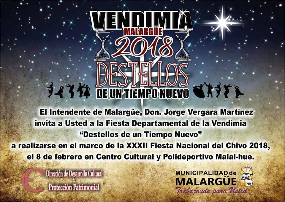Esta Noche… nuestra Vendimia – Municipalidad de Malargüe