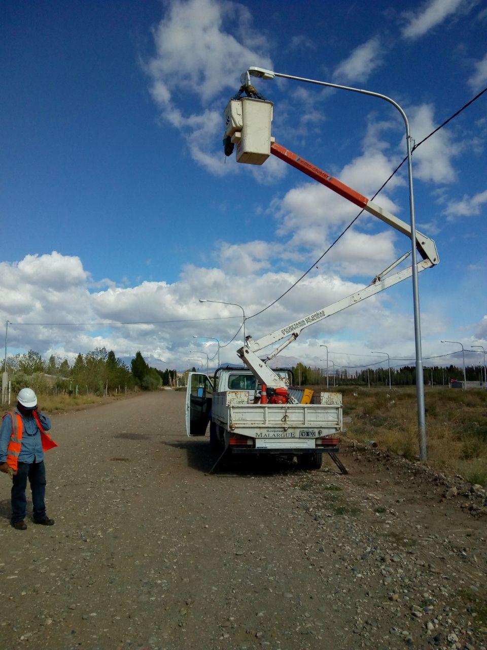 Tareas de Reparación de luminarias