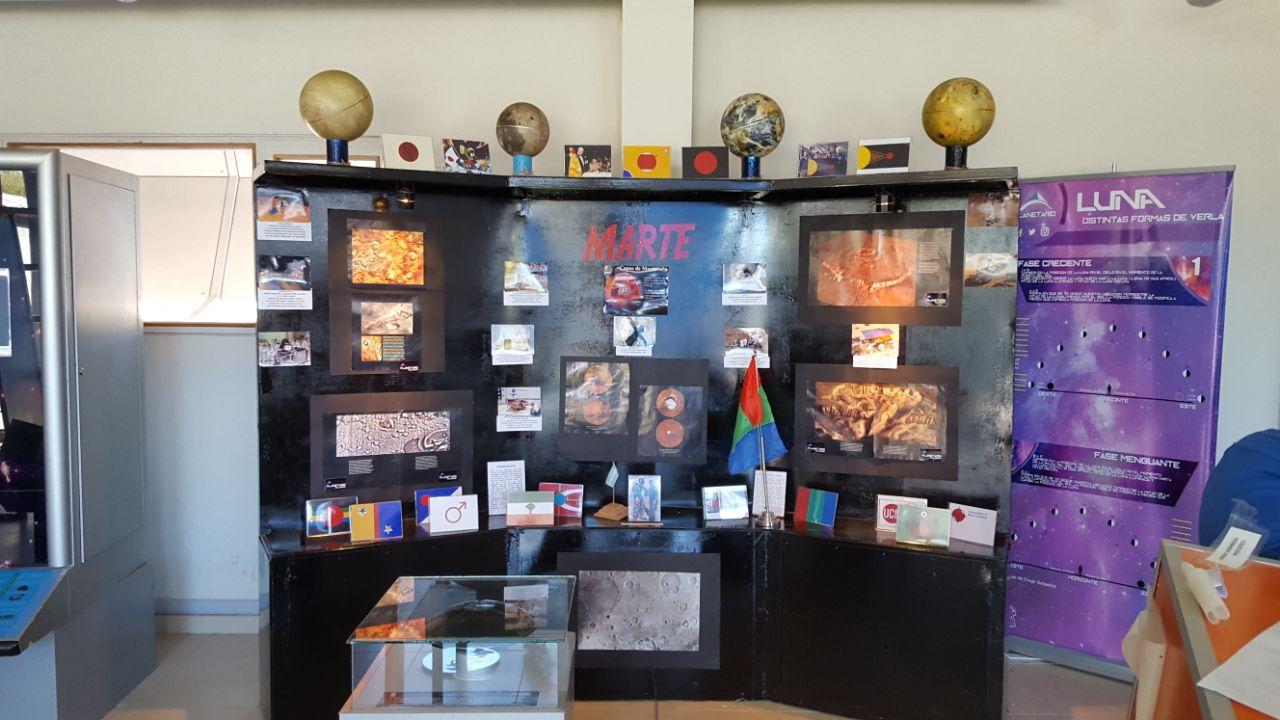 Inauguran una muestra del Planeta Marte