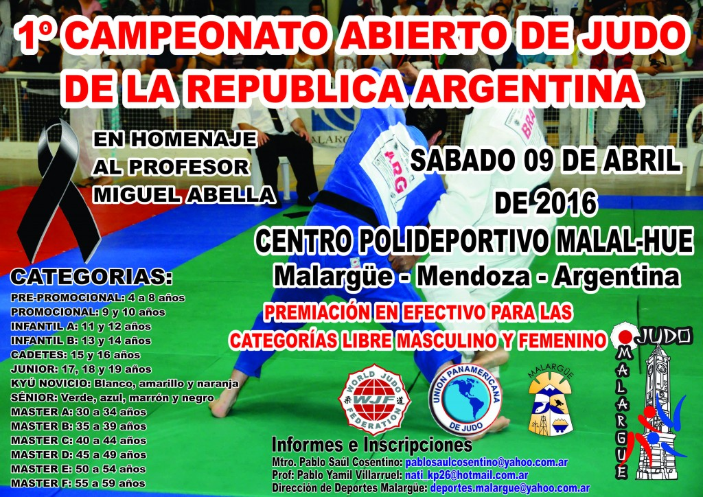 folleto torneo