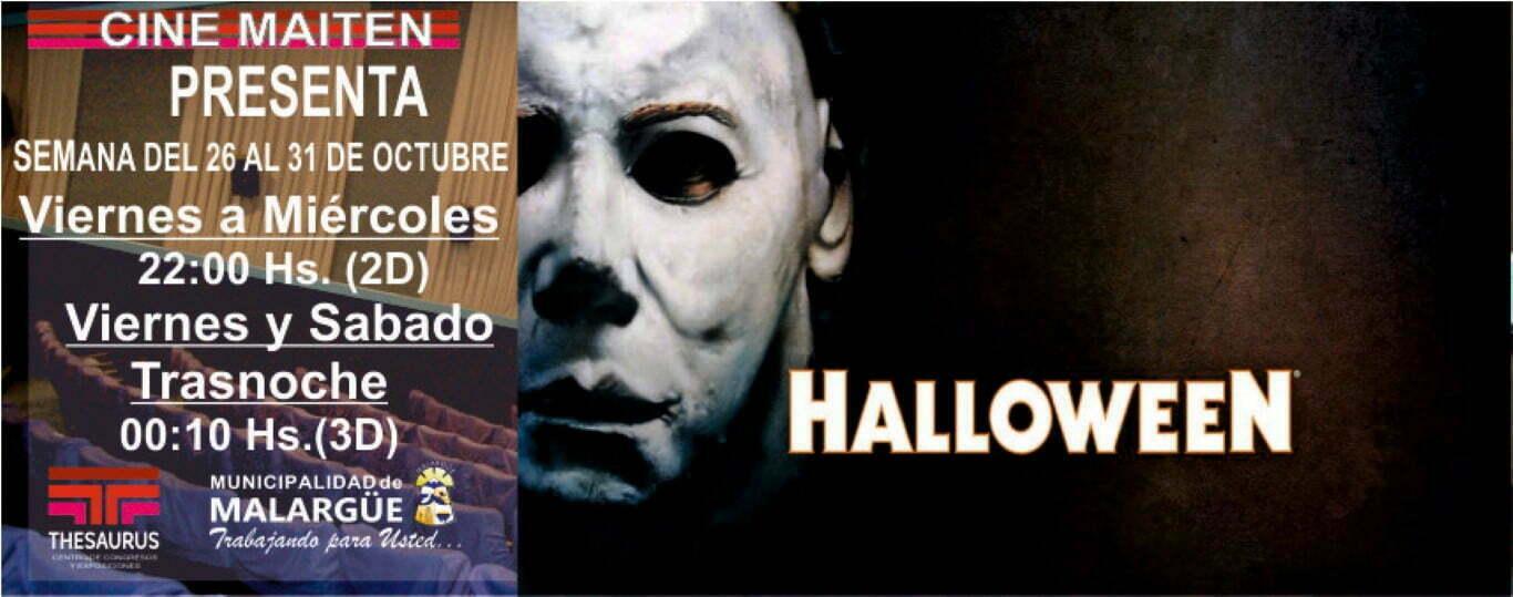 Estrenos en Cine Maiten del 26 al 31 de Octubre