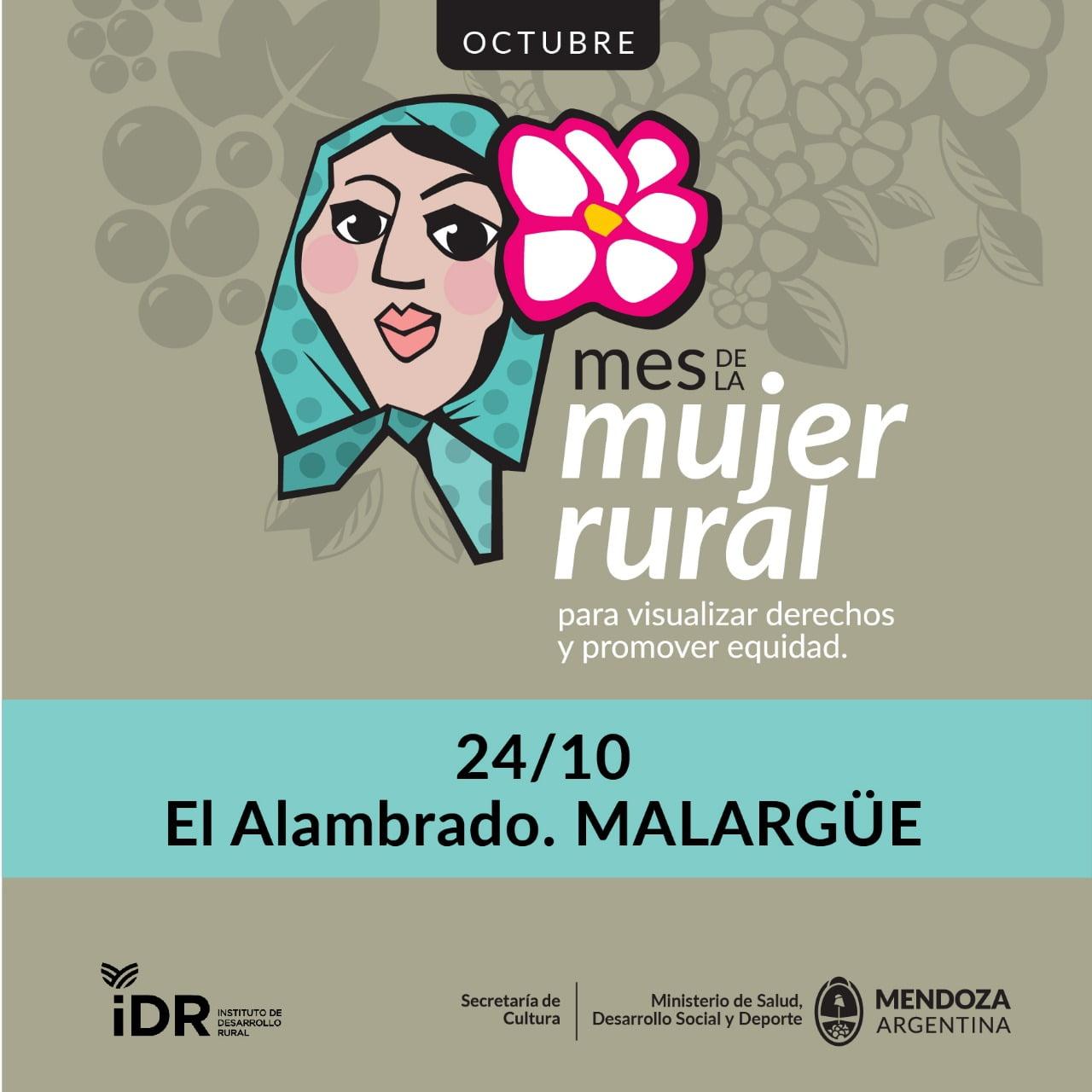 """Invitación al evento """"Mujer Rural"""""""