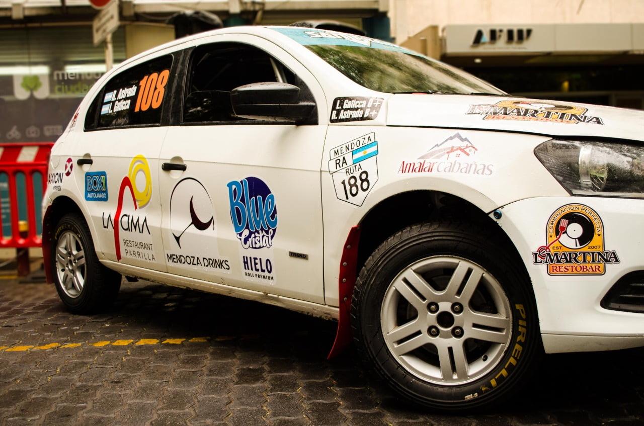 Promoción del Rally Argentino en Mendoza