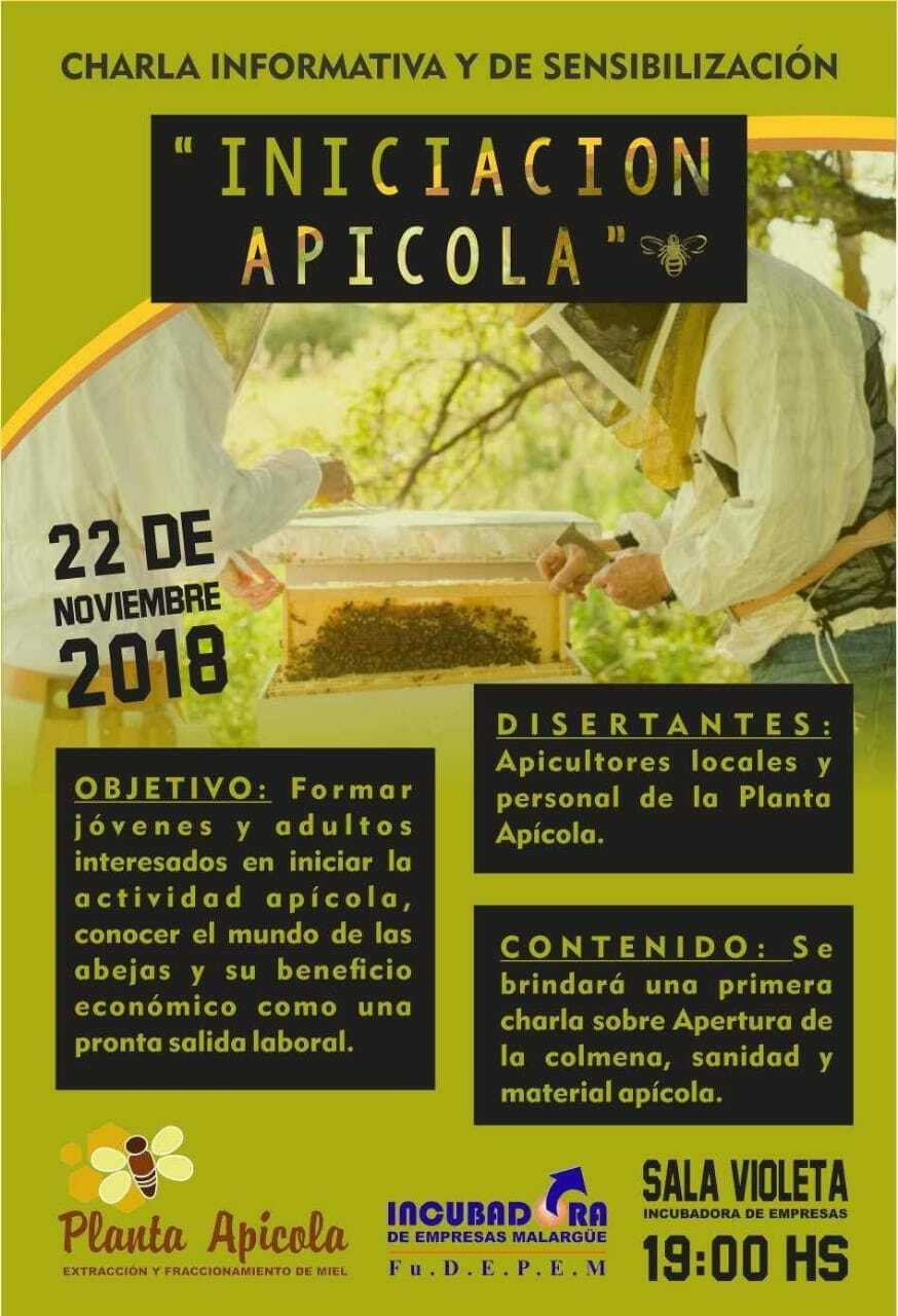 Charla de INICIACIÓN APICOLA.