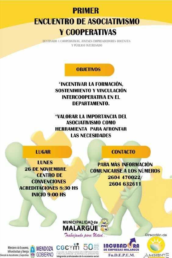 Primer Encuentro de Asociativismo y Cooperativas
